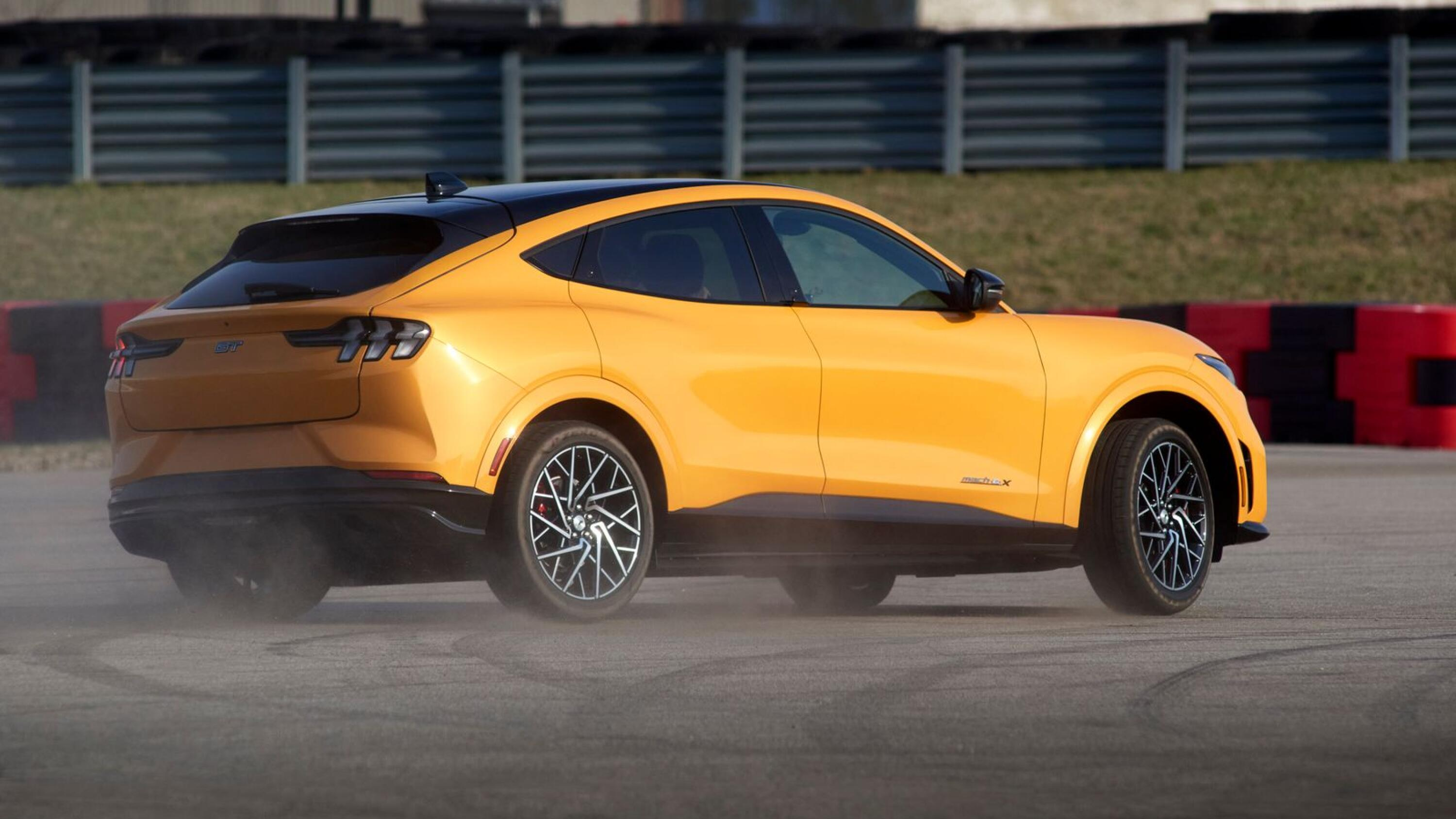 Electric pony: 2021 Mustang Mach E GT can hold a powerslide