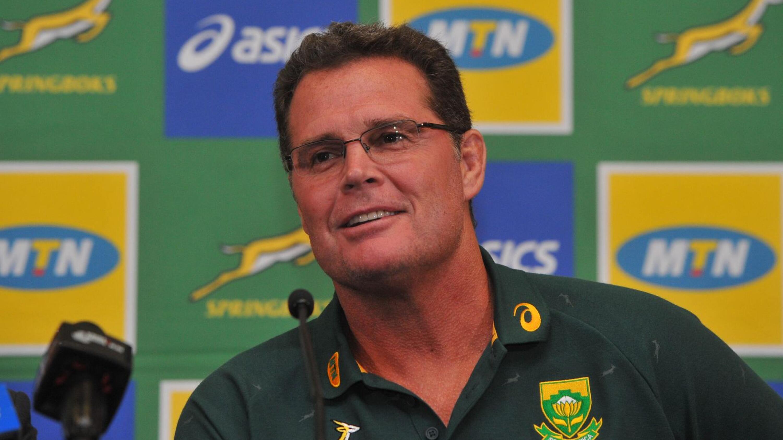 SA Rugby Director Rassie Erasmus