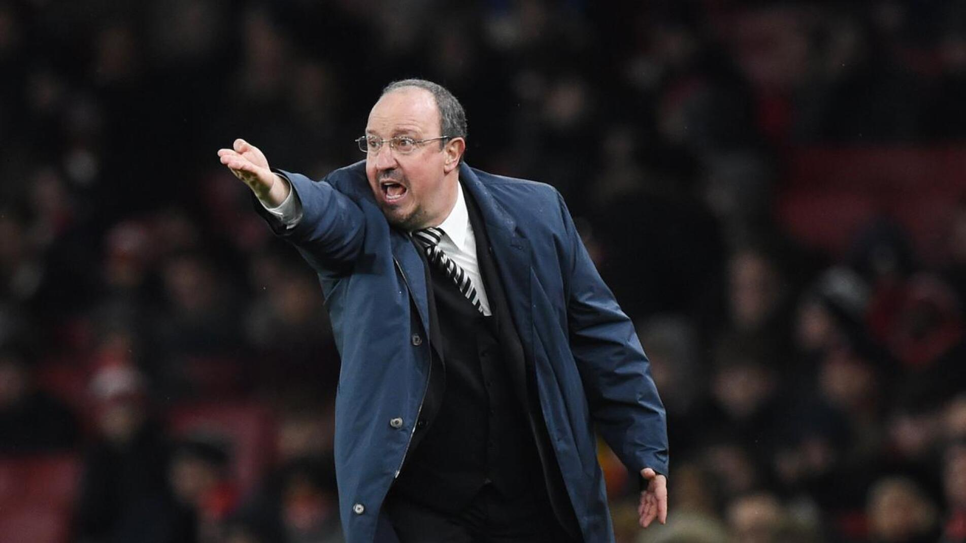 New Everton manager Rafa Benitez