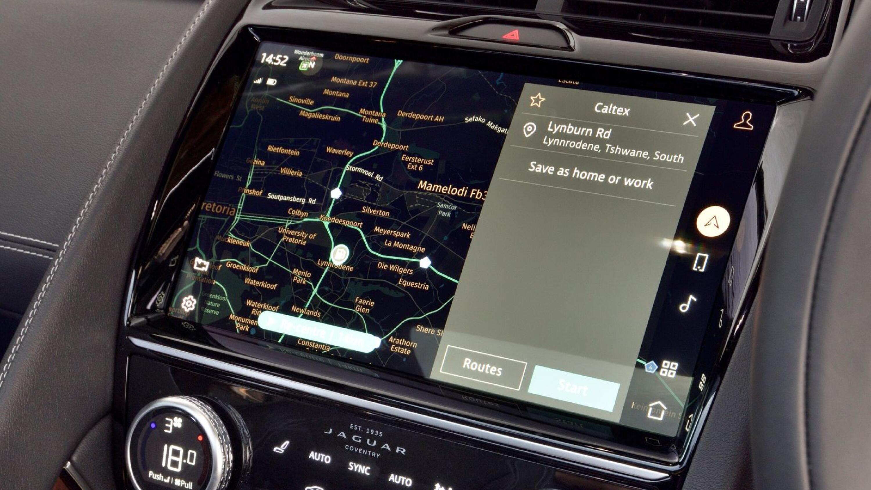 2021 jaguar E-Pace features a 29cm Pivi Pro enhanced touchscreen system