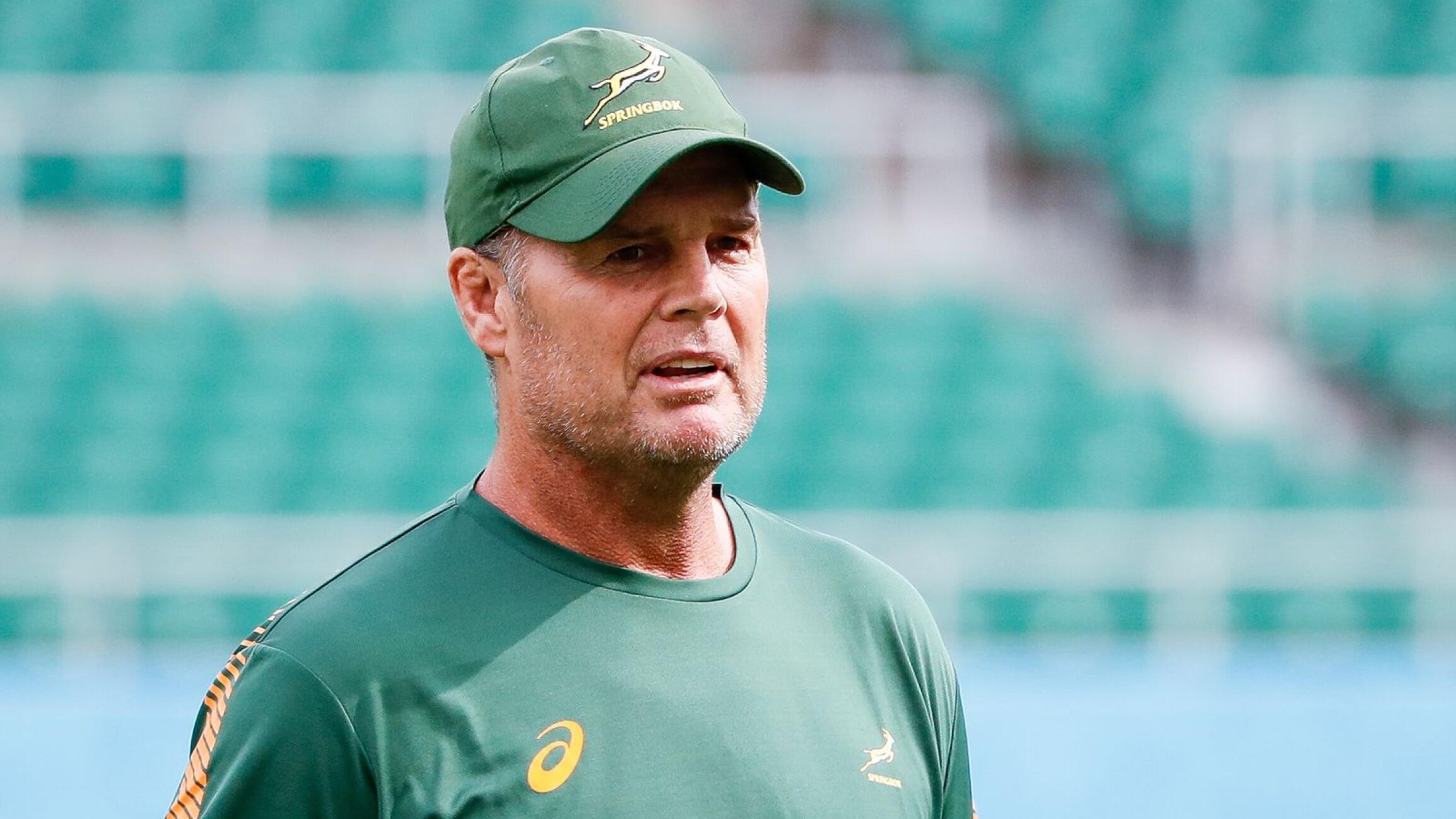 Director of Rugby Rassie Erasmus