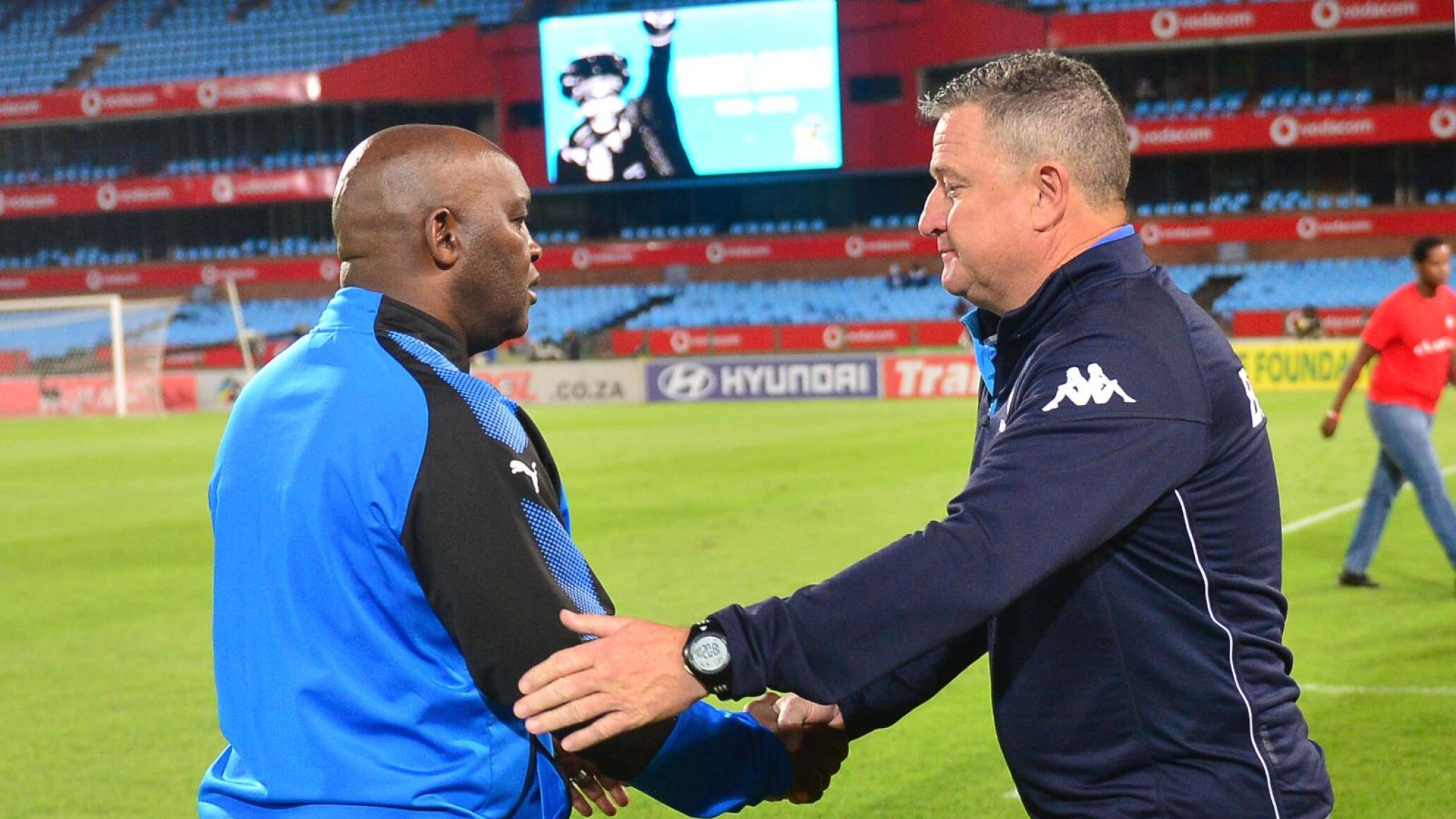 Al Ahly coach Pitso Mosimane says Gavin Hunt deserves all the plaudits