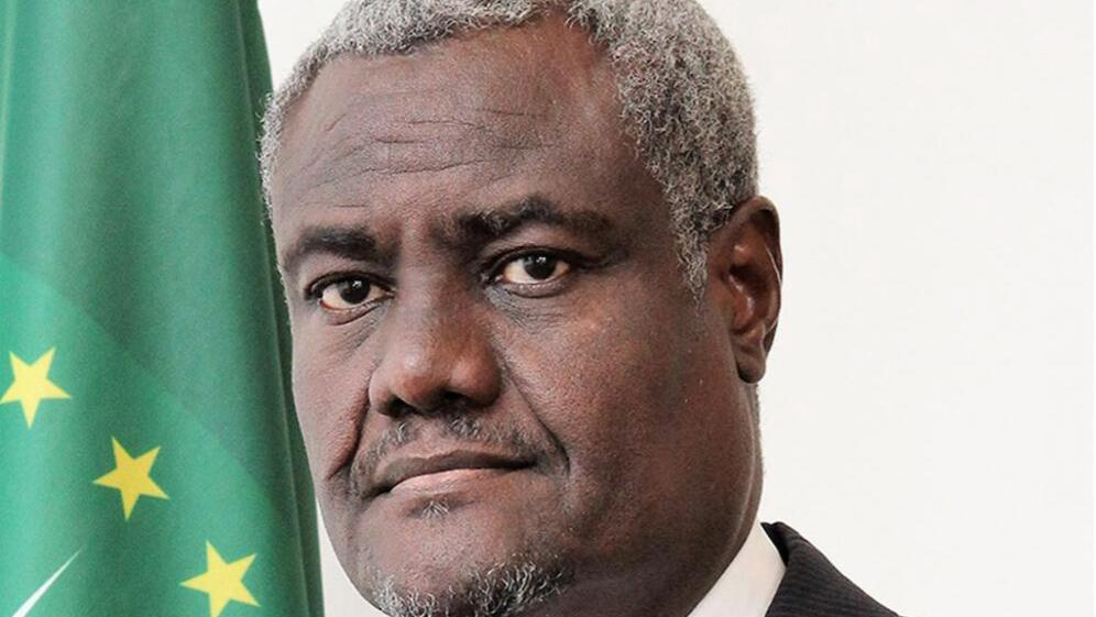 African Union Commission chairperson Moussa Faki Mahamat.