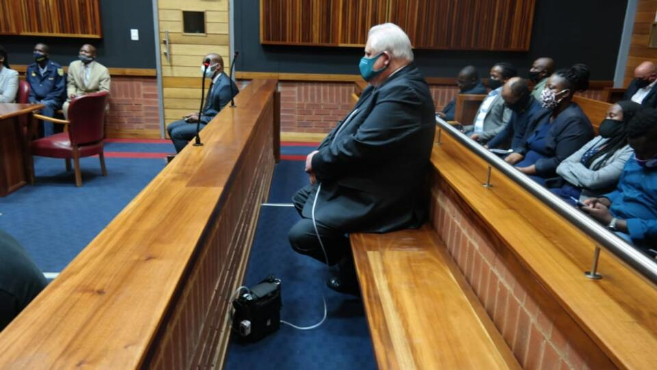Corruption accused Angelo Agrizzi appeared at the Palm Ridge Magistrate's Court where he was denied bail, with the court saying, he was a flight risk. Picture: Timothy Bernard/African News Agency/ANA