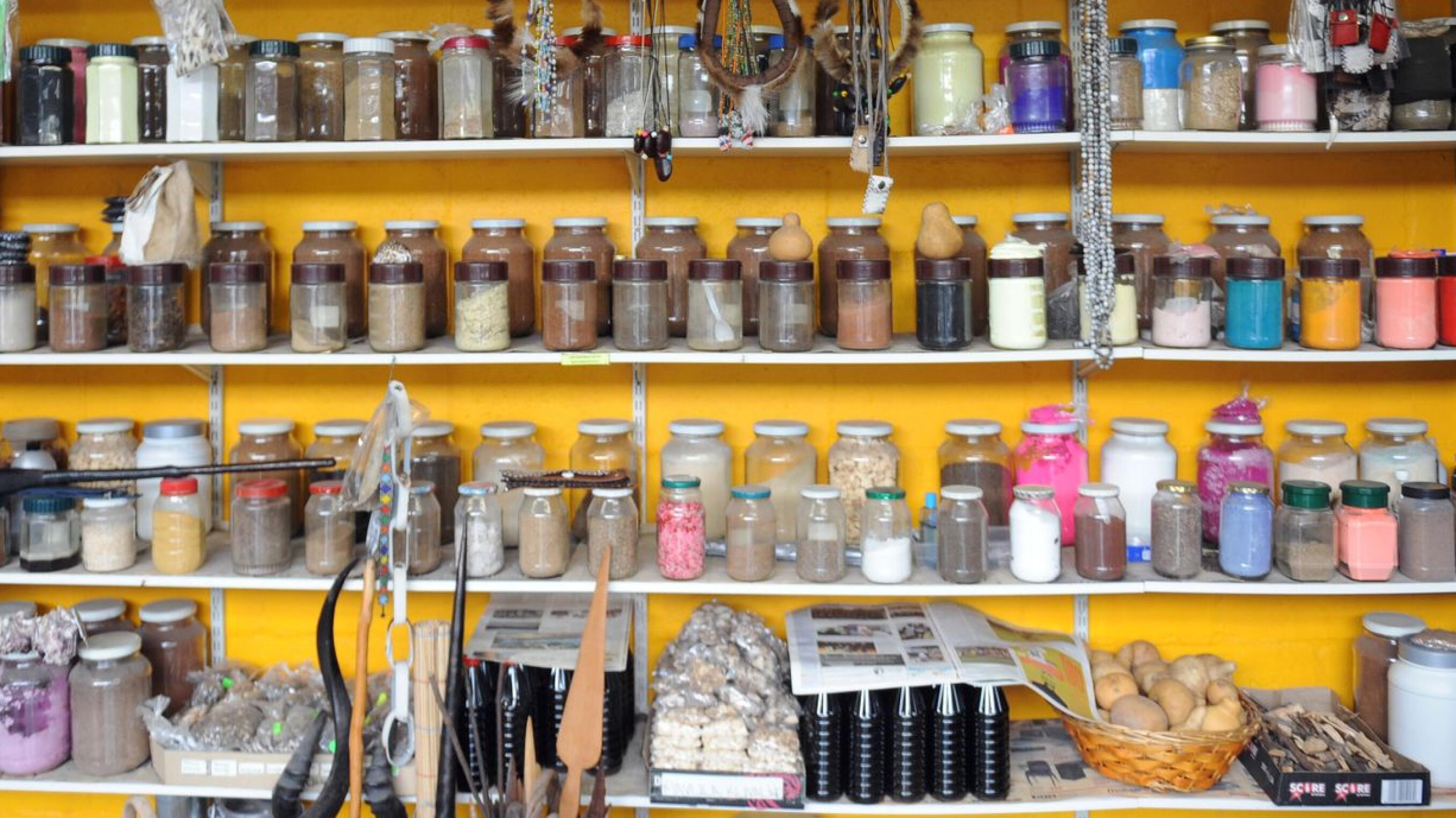 herbs and tinctures used in traditional medicine