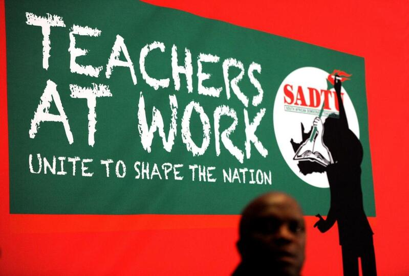 Teacher union logo.