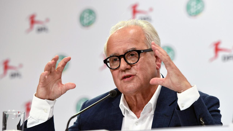 DFB president Fritz Keller