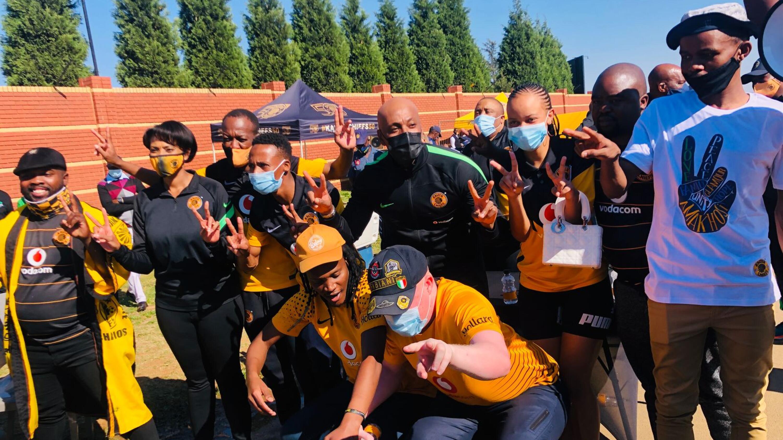 Unhappy Kaizer Chiefs fans