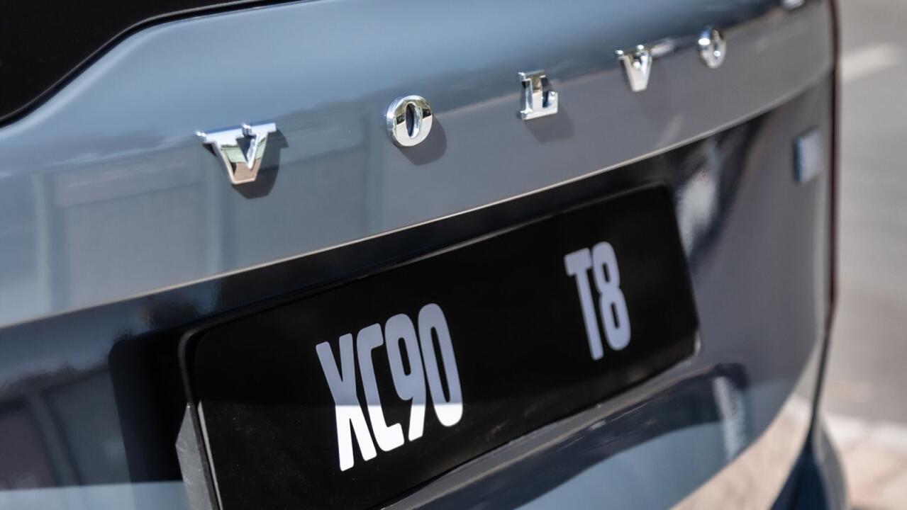 2021 XC90 T8 plug-in hybrid