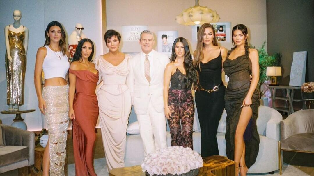 Kendall Jenner, Kim Kardashian West, Kris Jenner, Andy Cohen, Kourtney Kardashian, Khloe Kardashian and Kylie Jenner