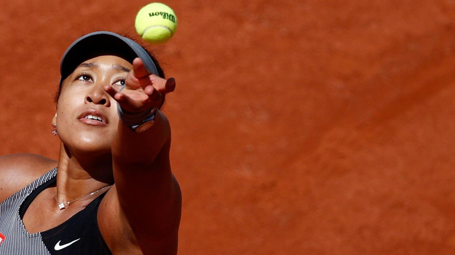 Japan's Naomi Osaka in action