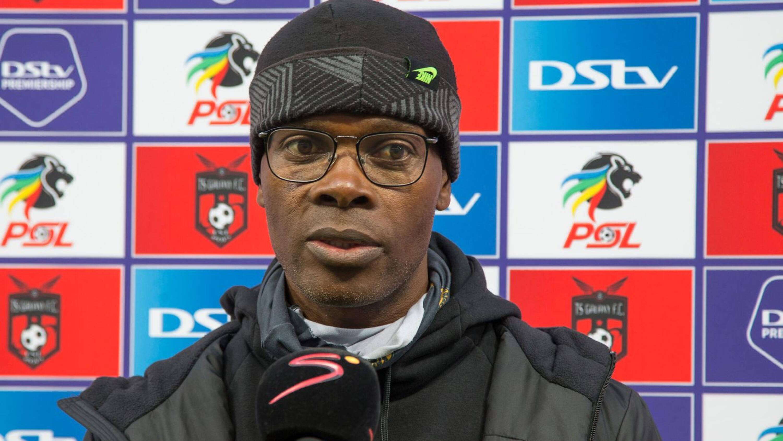 Kaizer Chiefs' interim head coach Arthur Zwane