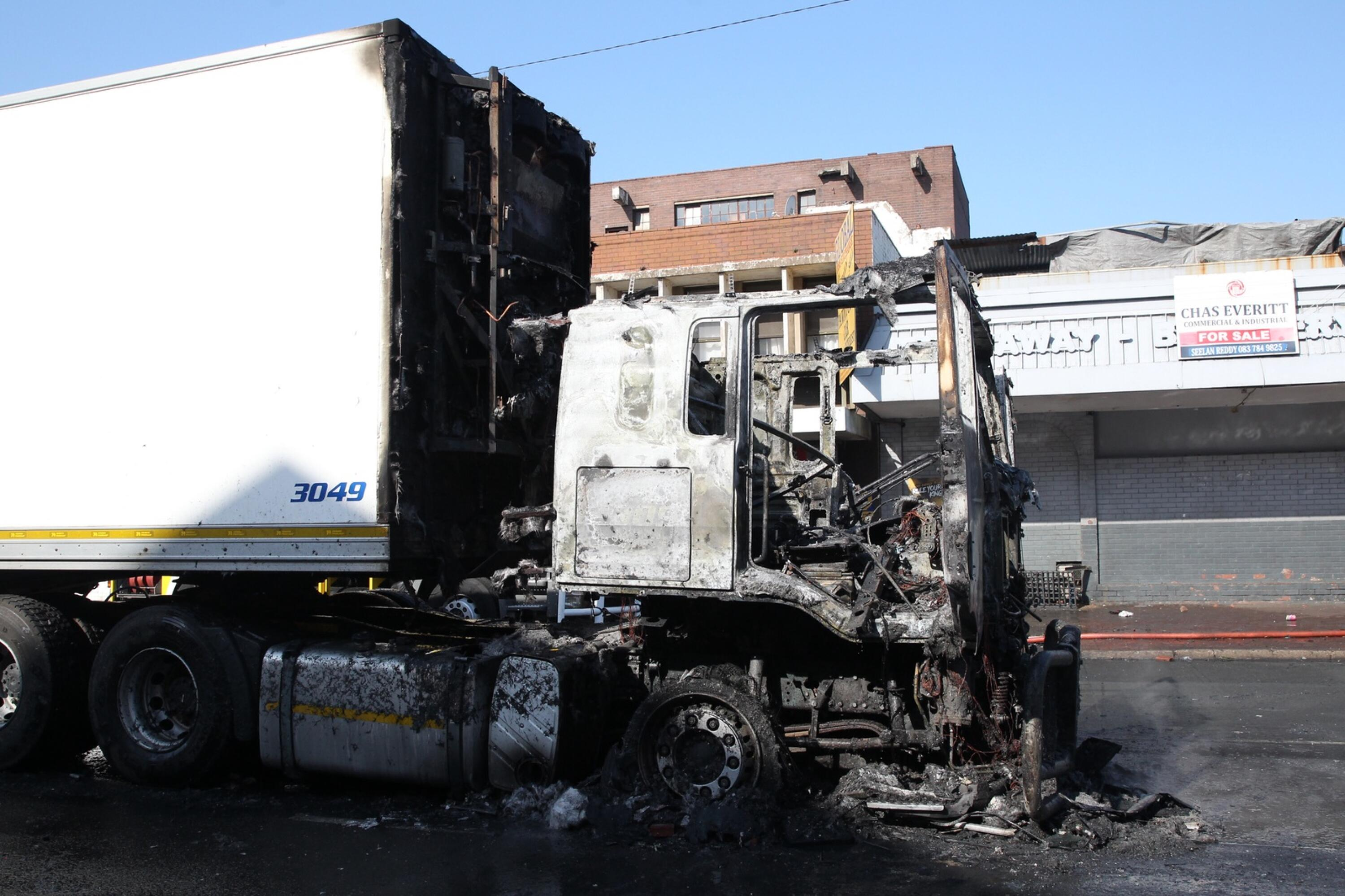 After allegations that parts of the province may expect unrest today, the Road Freight Association said the freight industry would pull out their trucks and employees in KZN should further violence arise.