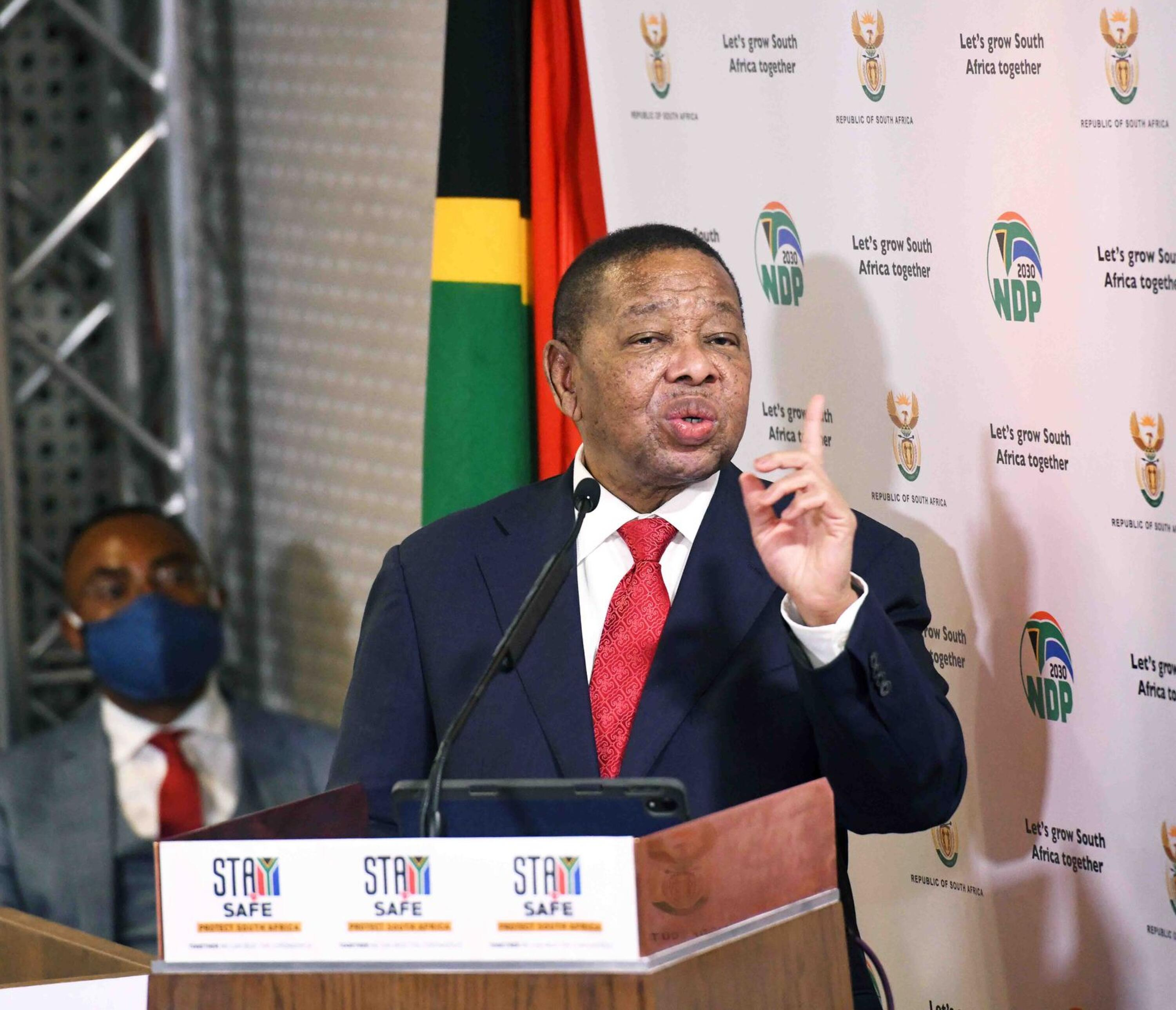 Minister of Higher Education and Training Blade Nzimande.