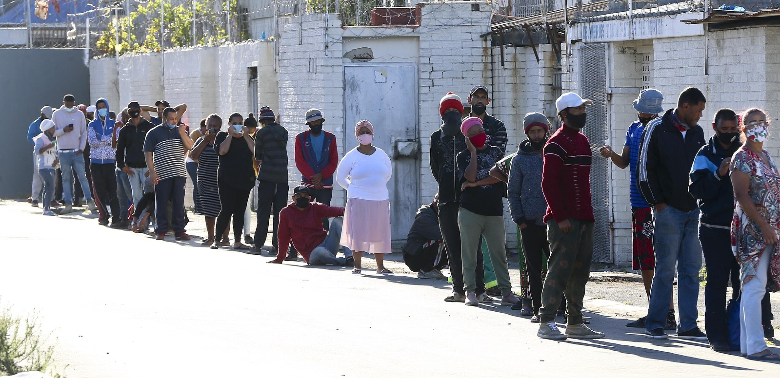 The R350 Social Relief of Distress grant is expected to end on Friday