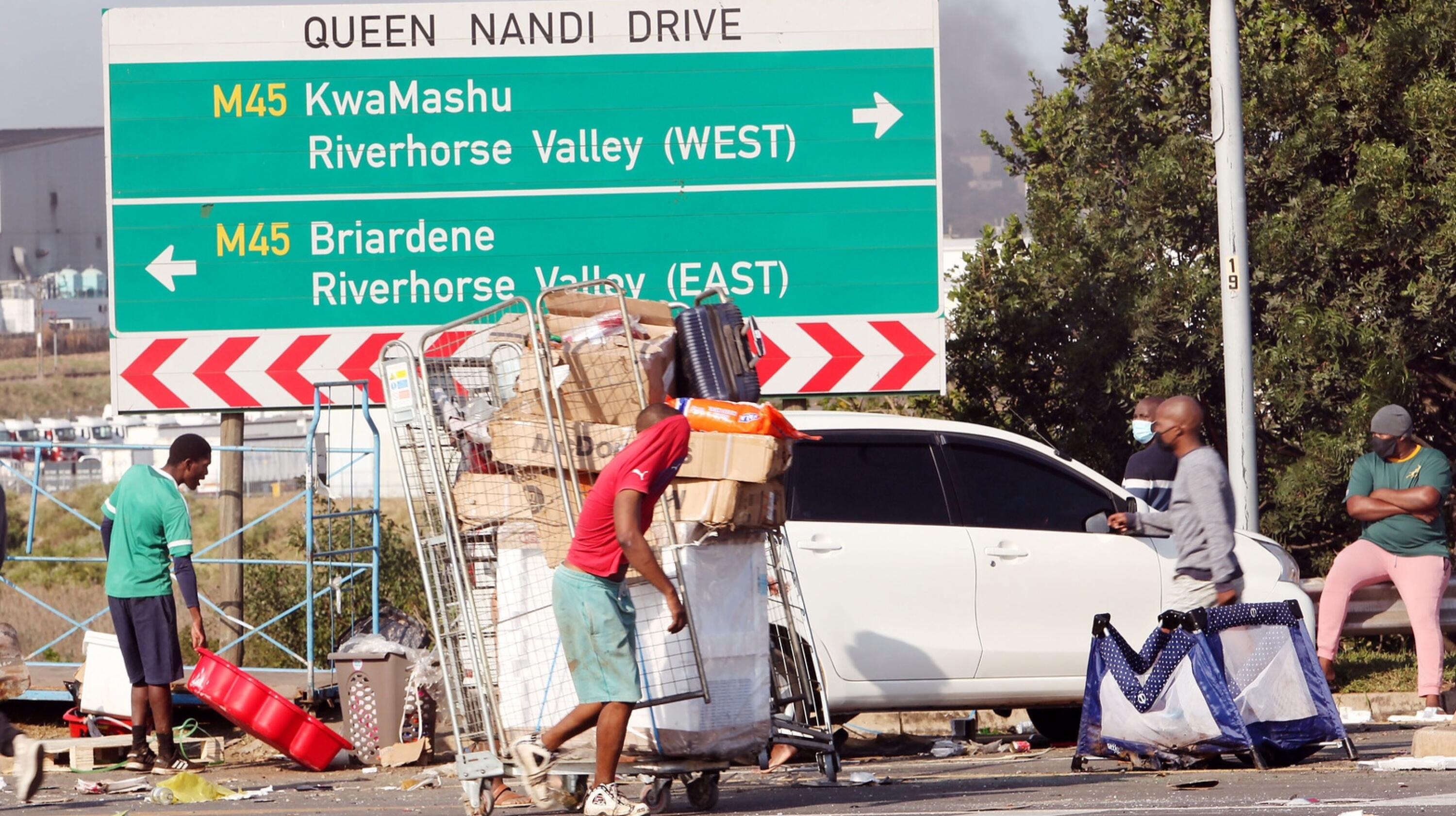 The Pietermaritzburg Economic Justice and Dignity group (PMBEJD) said its September report had shown a massive food price spike in cities that had been affected by the recent unrests.