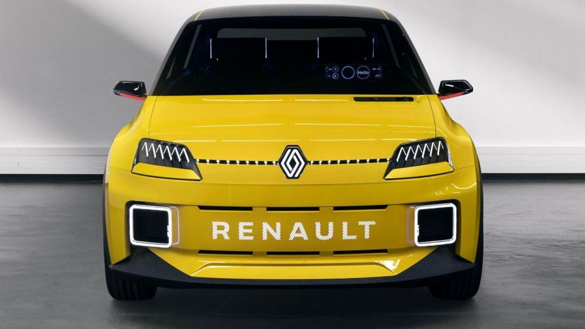Renault 5 concept shows off the new Renault logo