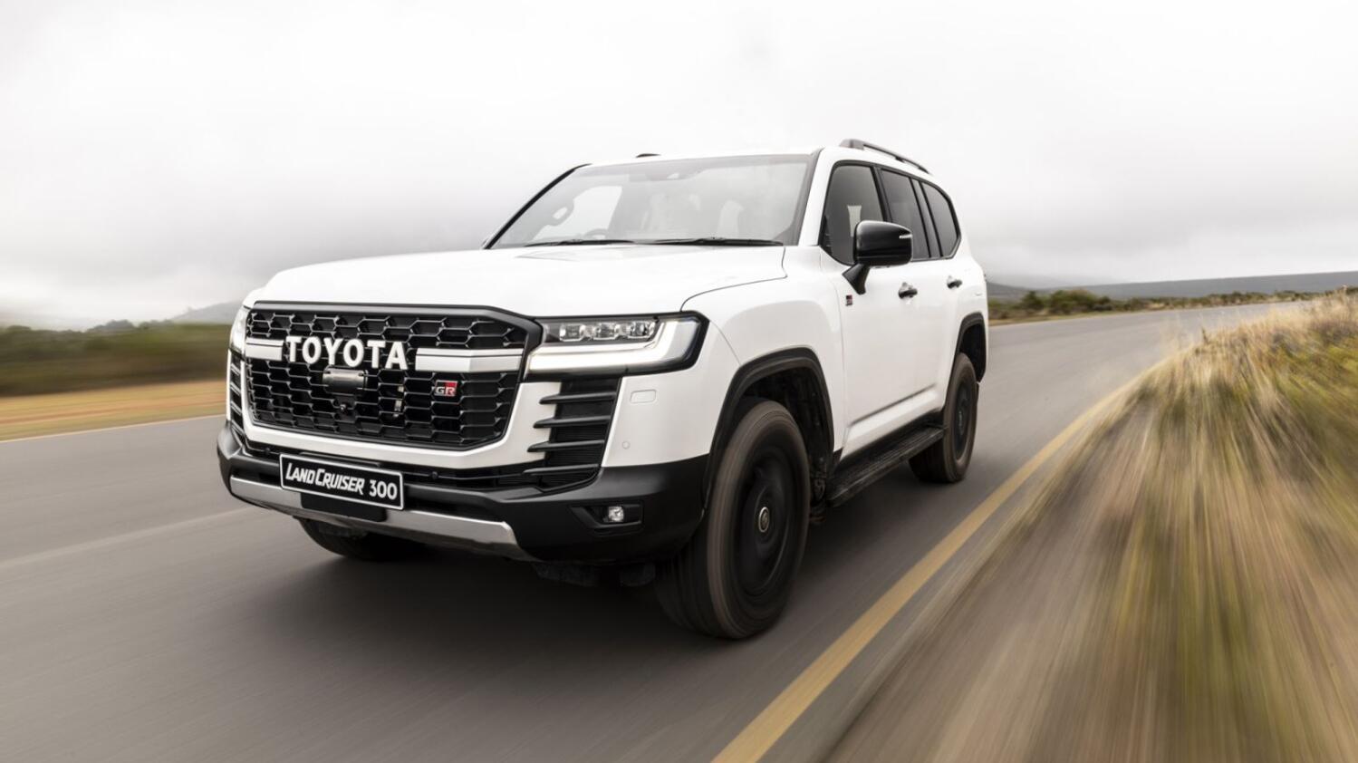 2021 Toyota Land Cruiser 300 GR-S