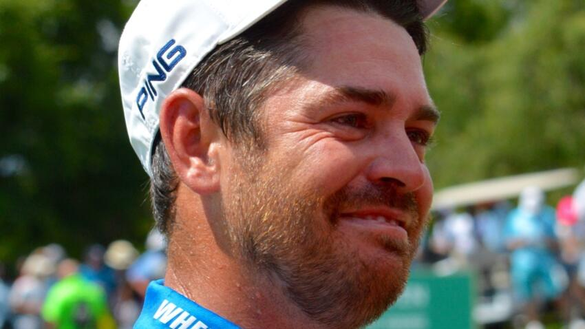 SA's Louis Oosthuizen after winning the SA Open in December 2018 in Johannesburg