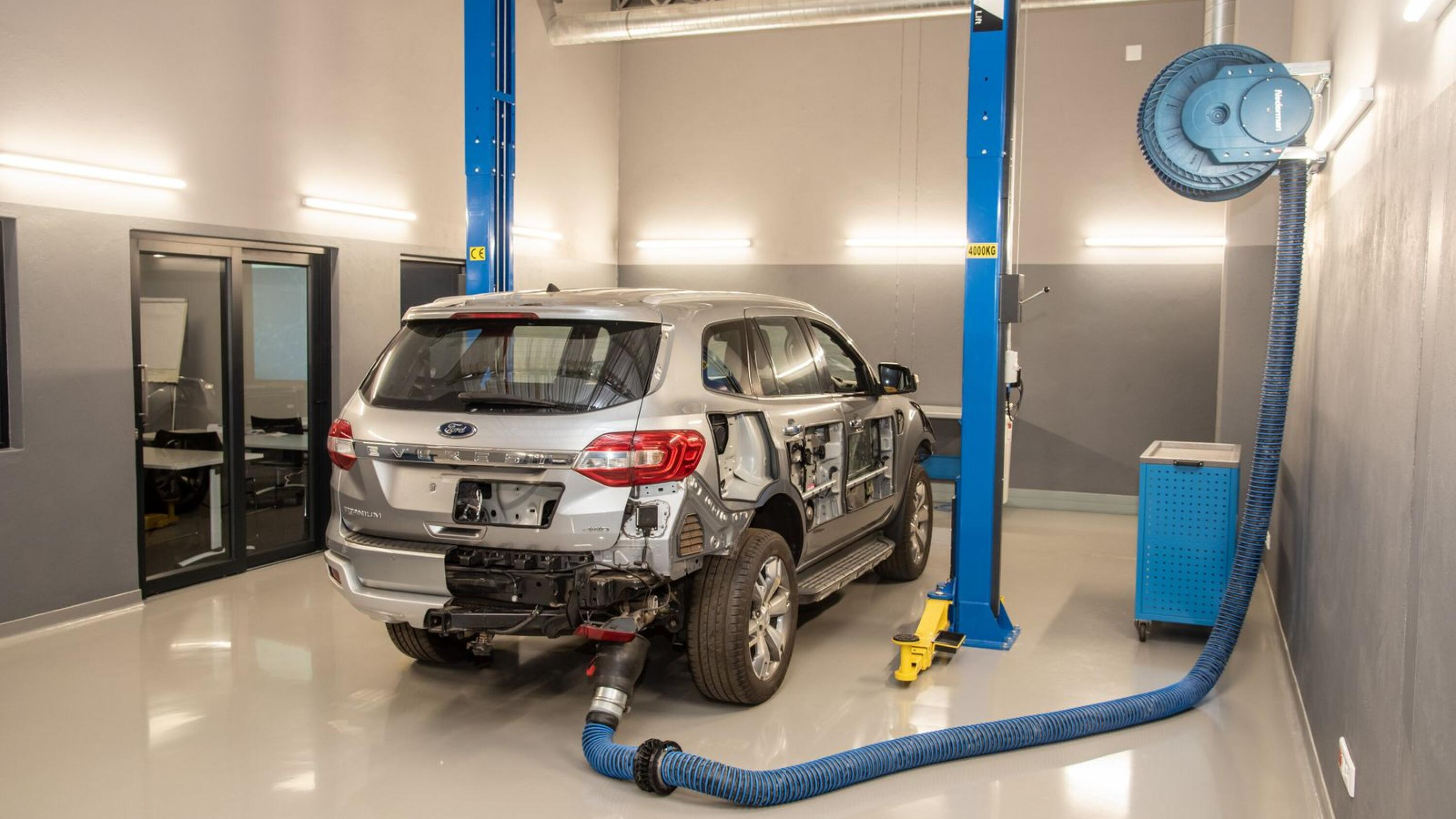 Ford Everest training vehicle specially commissioned for the SEO Centre.