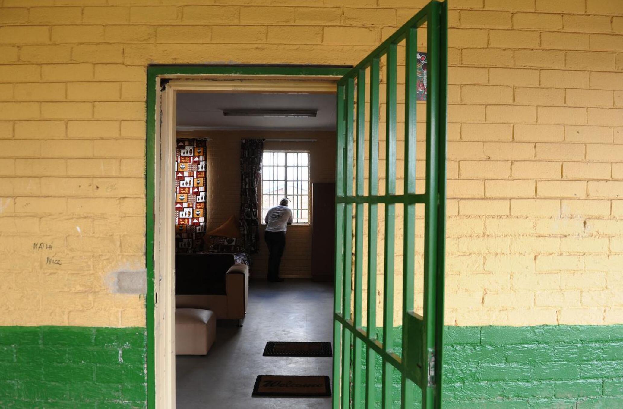Open classroom gate.